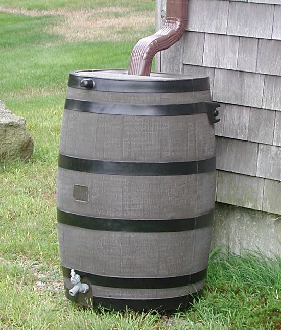 Rain Barrels - Natural Landscaping, Gardening, and Landscape Design in the