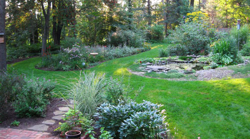 Serving The Catskills And Hudson Valley Backyard Landscape Image Designing  ...