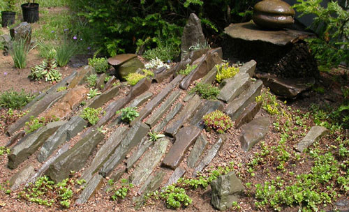 Beau Building A Rock Garden Is Almost Like Building A Scaled Down Model Of A  Larger Mountainside Garden.